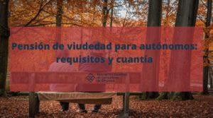 Pensión de viudedad para autónomos - Portada