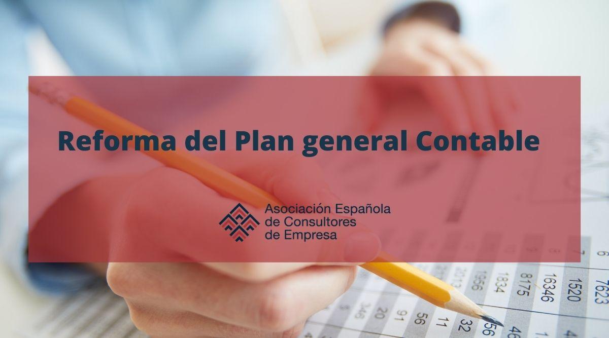 Reforma del Plan General Contable